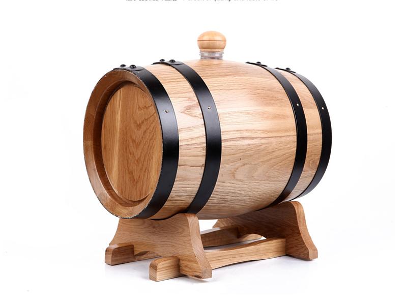 Kích thước chuẩn thùng gỗ sồi