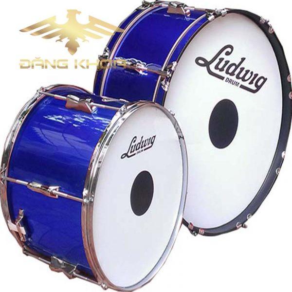 Bán bộ trống đội Lidwig xanh giá rẻ đẹp